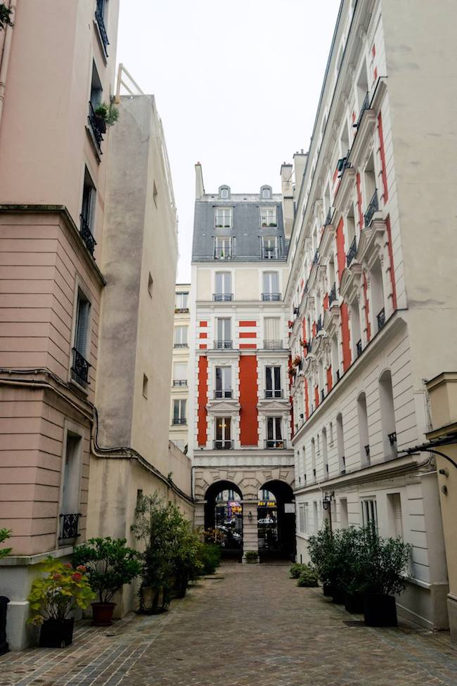 Villa des Platanes, one of the most exclusive secret villages in Paris found in Pigalle! #Paris #Travel #France
