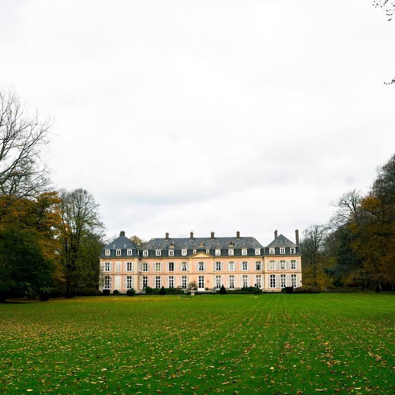 Château de Sissi, a beautiful chateau hotel in Normandy to include on your Normandy road trip. #chateau #france #normandy #travel