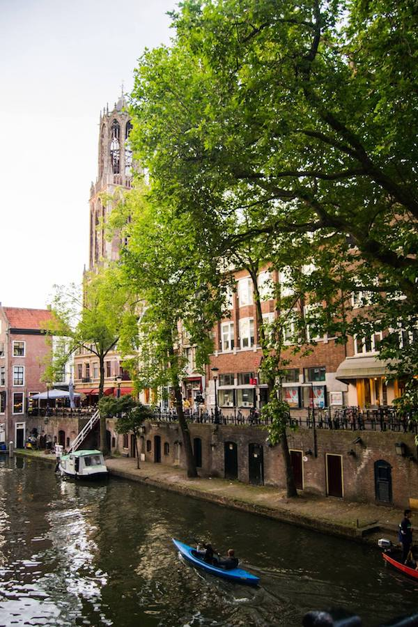 Utrecht, one of the prettiest Dutch cities. Include this city on your Europe trip! #travel #europe #netherlands #utrecht