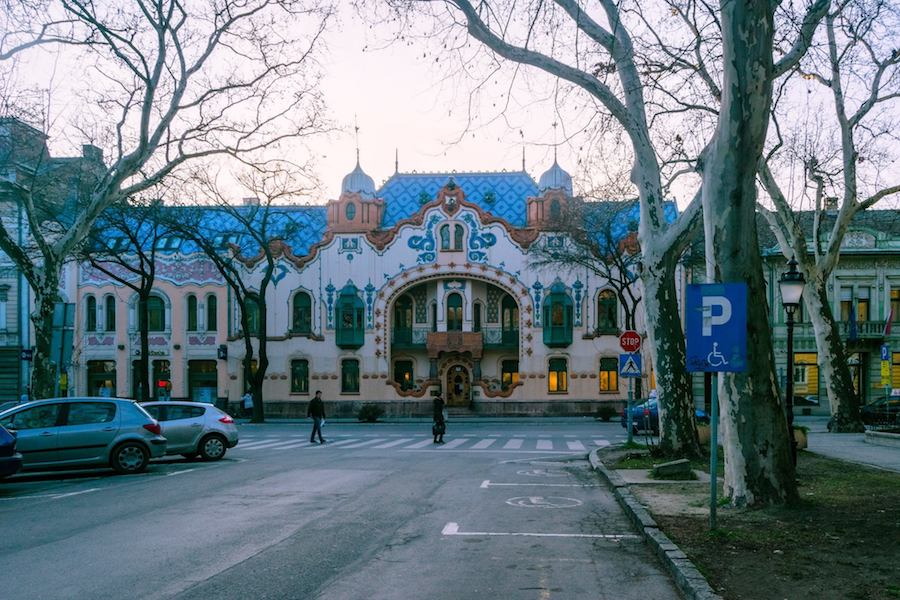 Raichie Palace, one of the best things to see in Subotica Serbia. This art nouveau masterpiece in Serbia is a must-see! Read about visiting Subotica, Serbia! #travel #serbia #architecture