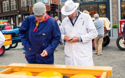 Woerden: The last real cheese market in the Netherlands
