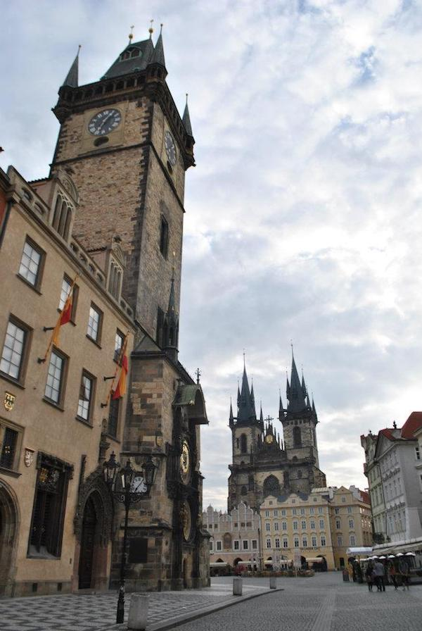 Prague castle in Prague, Czech republic. Read about what cities to include on your Eurotrip itinerary. #travel #prague #czechrepublic