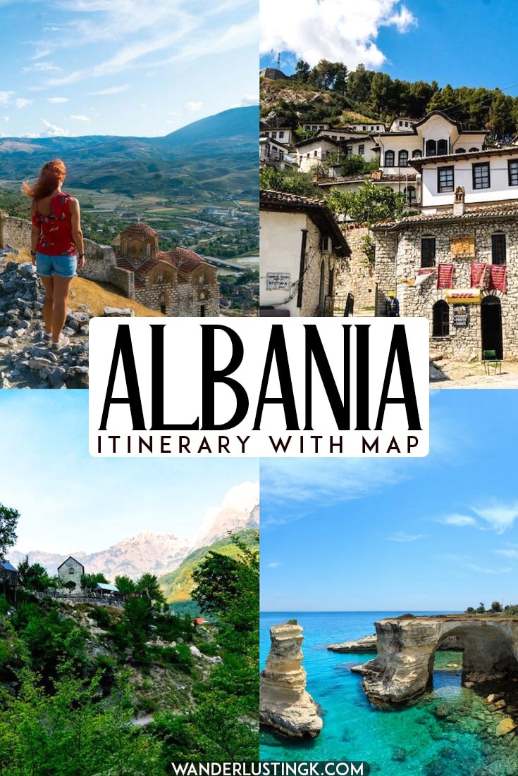 Planning your trip to the Balkans? Your perfect Albania itinerary including what to do in Albania, including hiking in Theth, and the best places to visit in Albania using buses. #Albania #Tirana #Balkans #Travel #Europe #Theth