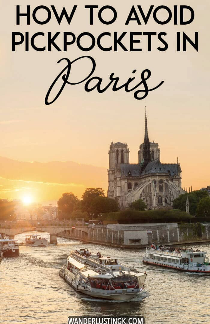 Visiting Paris? 10+ safety tips for Paris written by a former resident on how to avoid pickpockets in Paris to avoid getting robbed. Includes practical safety advice for your Paris trip to keep you safe. #Paris #France #Europe #Travel #Pickpockets #Safety