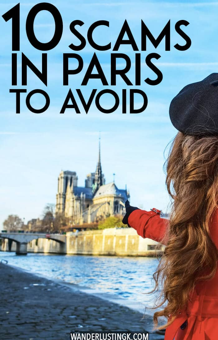 Visiting Paris? Safety tips for Paris, including 10+ scams in Paris to be aware of and 10+ tips for avoid pickpockets in Paris written by experts and residents of Paris. #travel #france #paris #safety