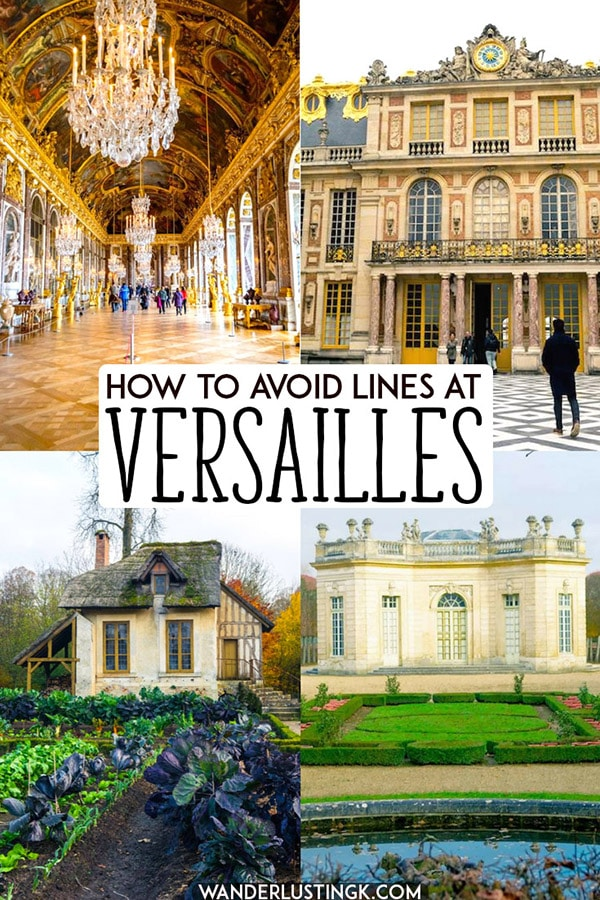 Planning your visit to Versailles France? Read travel tips for Versailles, including how to visit Versailles on a budget and how to avoid lines at Versailles, the perfect day trip from Paris! #travel #Paris #france #Versailles