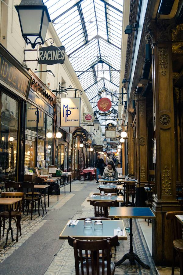 Covered Passages in Paris, one of the best things to do in Paris. Read why you must include these arcades in your Paris itinerary! #travel #paris #france #Europe