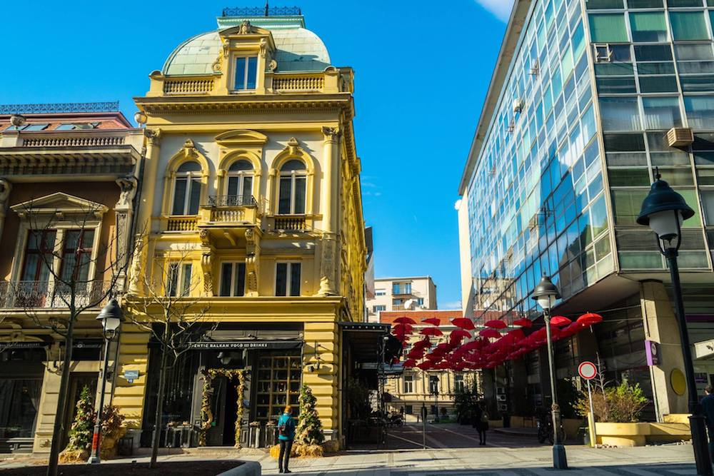 Manufactura, one of the best restaurants in Belgrade Serbia. Read about where to eat in Belgrade in this food guide to Belgrade! #travel #belgrade #serbia