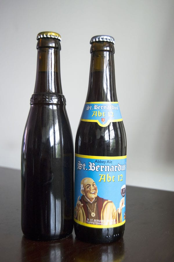 Westvleteren 12 and St. Bernadus 12, two of the best beers in the world. Read about the history of Westvleteren beer and why you should try both of these trappist beers! #travel #beer