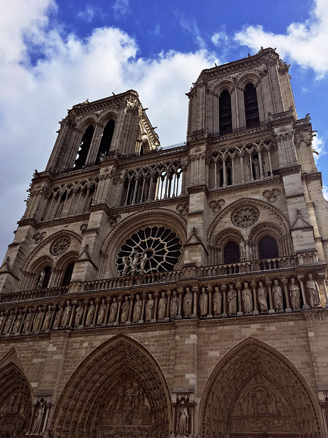 Notre Dame, one of the best Paris attractions to include on your Paris itinerary. Read what to do in Paris in four days! #travel #paris #europe #france