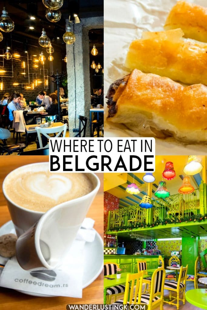 Planning your Balkan trip? Read this food guide to Belgrade, Serbia with the best places to eat in Belgrade, Serbia (as recommended by locals) and where to drink coffee in Belgrade. This guide on where to eat in Belgrade includes some of the most instagrammable restaurants in Belgrade! #travel #belgrade #serbia #Beograde #balkans