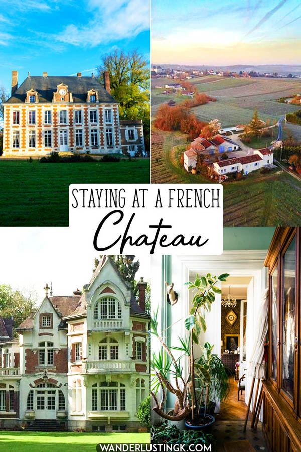 Have you always wanted to stay in a chateau? Read about the ultimate French bucket list experience: staying with French nobility in a chateau! See seven French chateau hotels that you can stay at! #travel #france #chateau #castles #hotels