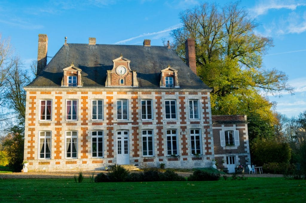 Le Verbosc, a chateau in Normandy France. Read about what it's like to stay at a chateau in France and five chateaux in France you'll want to to stay at! #travel #france #normandy