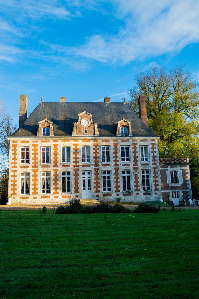 Le Verbosc, a charming French chateau in Normandy. Read what it's like to stay at a chateau in France with bucket list inspiration for staying at a castle in France! #travel #france #normandy