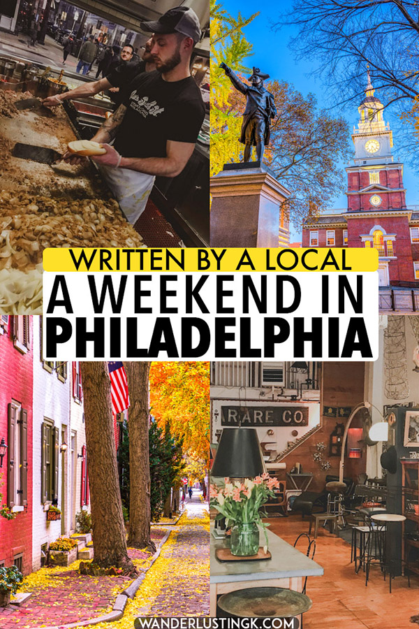 Your local guide to Philadelphia with insider tips for Philadelphia, including what to do in a weekend in Philadelphia off the beaten path and where to eat in Philadelphia. Discover Philadelphia, Pennsylvania (USA) through a local's eyes! #travel #USA #Philadelphia #Pennsylvania