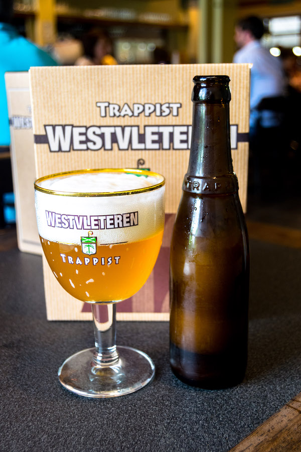 Westvleteren Blonde, one of the Westvleteren trappist beers. The Westvleteren abbey is where to buy Westvleteren 12, 8, and blonde beers! #travel #beer #belgium