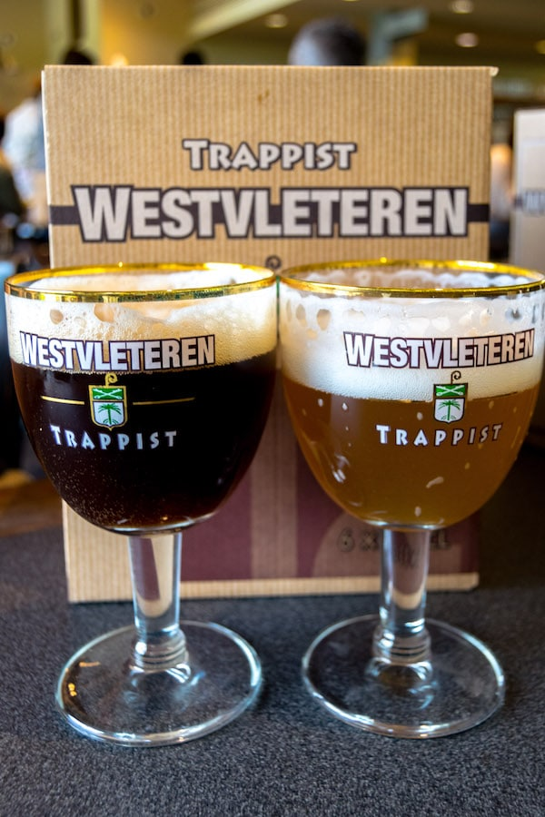 All three Westvleteren beers in one photo, including a box of the Westvleteren 12 beer. Read where to buy the Westvleteren 12 in Belgium and about the best beer in the world... #beer #travel #Belgium