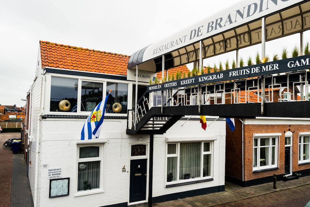 Seafood restaurant, De Branding, in Yereske. Yereske is a cute fishing village in Zeeland that you need to visit!