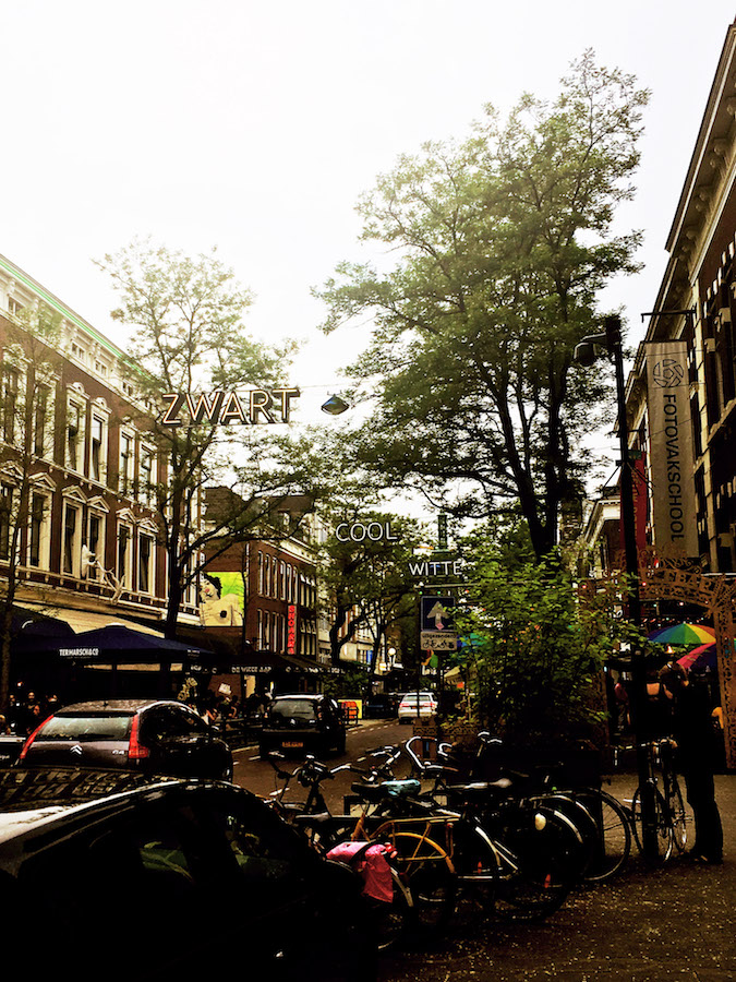 Witte de Wittestraat, part of the the Cool District in Rotterdam. This area is the heart of Rotterdam and going out for a drink here is a must in Rotterdam. #travel #rotterdam #holland