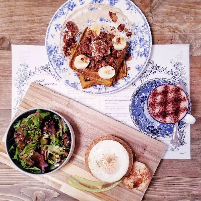Looking for insider NYC food tips? Your NYC brunch guide with the best brunch in lower Manhattan, including Tribeca and Chelsea. #travel #Manhattan #NYC #brunch