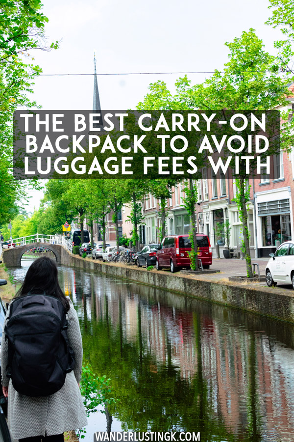 Looking to avoid luggage fees on budget airlines? Read a review of the Tortuga Setout Backpack, possibly the best carry-on backpack for travel. #travel #packing