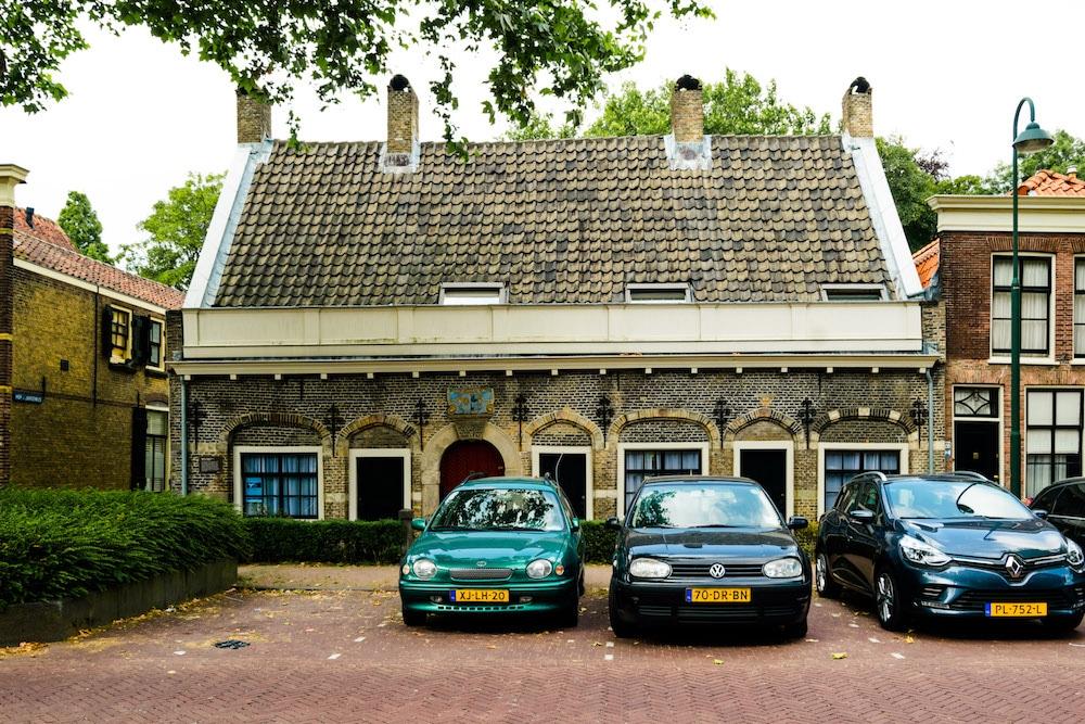 Hofje van Letmaet, one of the hofjes in Gouda. #travel #gouda #netherlands #holland