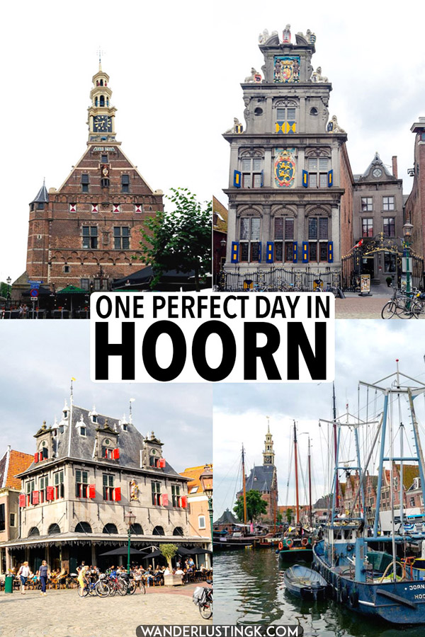 Your perfect city guide to Hoorn, one of the most charming cities in Holland only a day trip from Amsterdam. Read what to do in Hoorn with a one day guide to the best things to do in Hoorn. #hoorn #holland #netherlands #travel #nederland