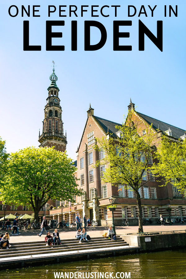 Your perfect one day guide to Leiden, including the best things to do in Leiden and a free self-guided walking tour of Leiden. Leiden is the perfect day trip from Amsterdam. #Leiden #Holland #Netherlands #Travel