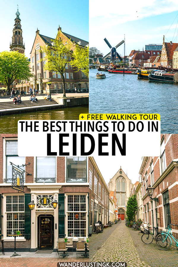 Your guide to Leiden with the best things to do in Leiden in one day. Includes a complete itinerary for Leiden, a great day trip from Amsterdam! #travel #leiden #holland #netherlands