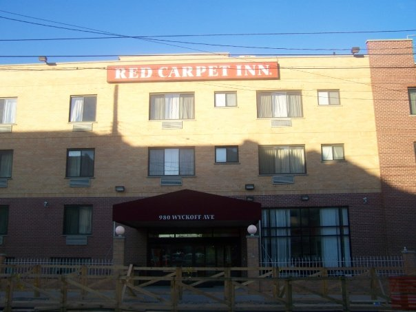 Red Carpet Inn, an affordable hotel in Brooklyn.