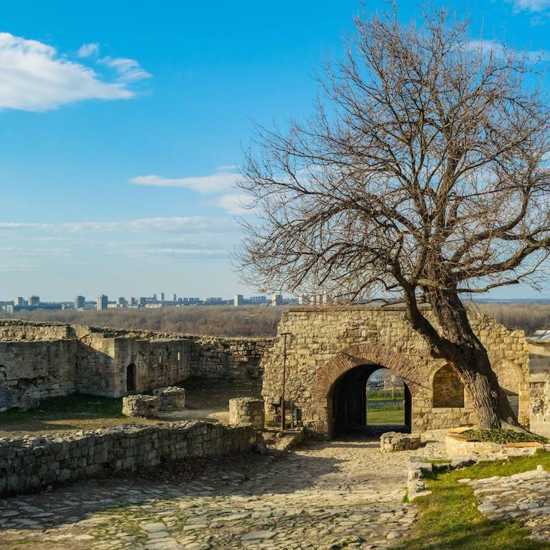 Old Fortress Gate at Belgrade Fortress, one of the most iconic sights of Belgrade, Serbia. #belgrade #serbia