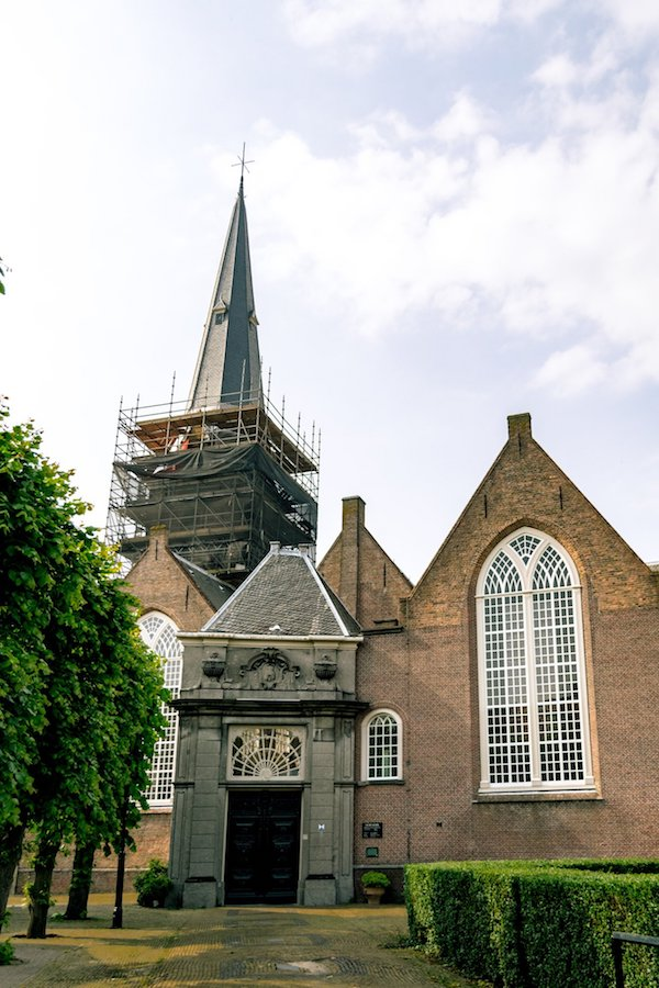 Oude Kerk in Voorburg, a historic town near the Hague. #hague #voorburg #travel