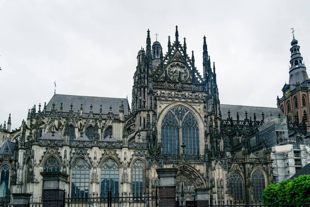 St. John's Cathedral in Den Bosch. This medieval gothic cathedral is one of the most beautiful cathedrals in the Netherlands! #denbosch #nederland