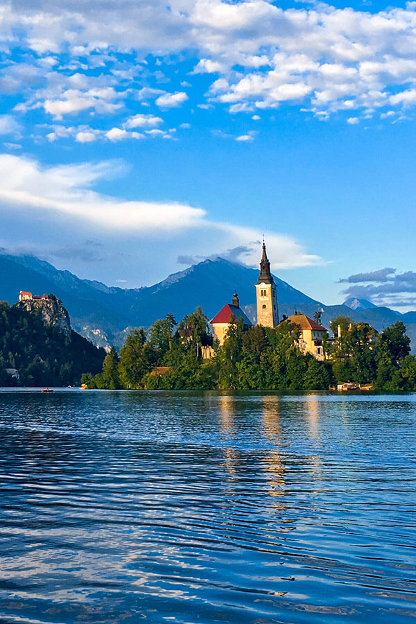 Lake Bled, one of the most beautiful places in Slovenia. Read about the secret alternative to Lake Bled! #travel #slovenia #europe