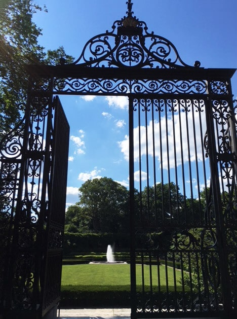 The Vanderbilt gate, which can you see elsewhere in the UES.