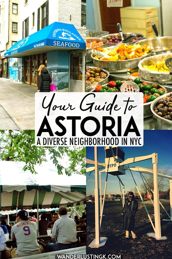 Looking for the best things to do in Astoria, Queens? This diverse neighborhood in New York City is one that you won't want to miss due to its rich culture and fantastic Greek food! Read this Astoria neighborhood guide! #NYC #USA #Queens #Astoria