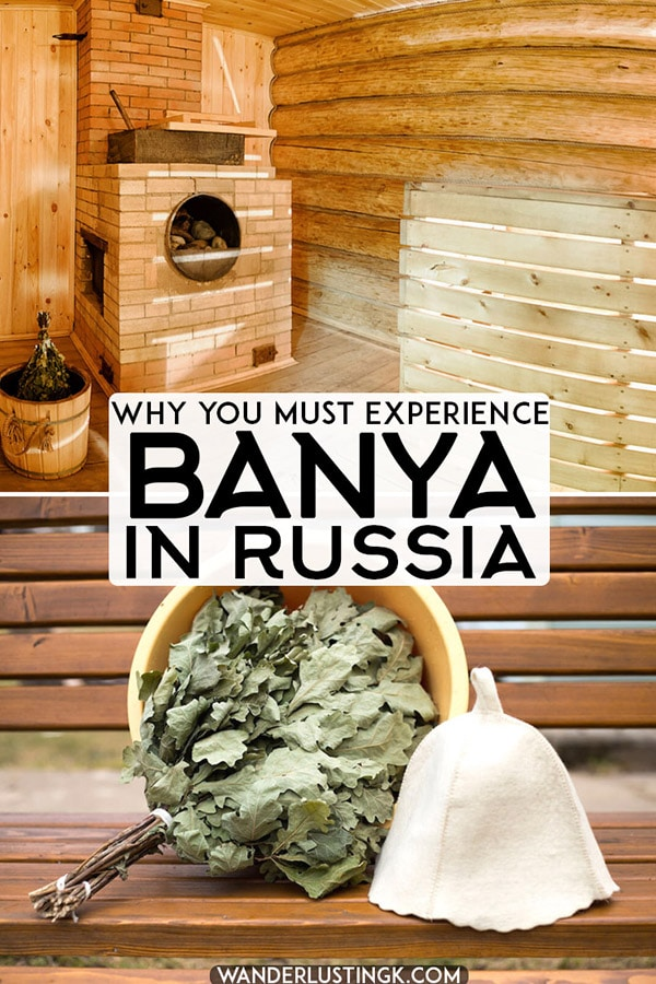 Planning your trip to Russia? Read about an traditional experience in Russia that you must have: visiting a Russian banya. Read what to expect when visiting a Russian spa... #russia #travel #moscow #saintpetersburg