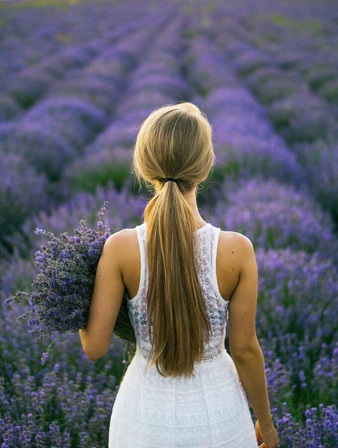 Lavender Fields in Hitchin, England. Read about why you need to visit the most beautiful market town only a day trip from London! #london #england #travel