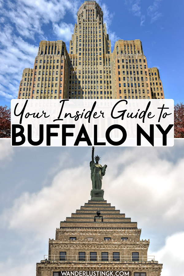 Planning a visit to Buffalo NY and Niagara Falls? Your insider guide to Buffalo with the best things to do in Buffalo NY, including events in Buffalo that you'll want to attend. #buffalo #travel #usa #NY