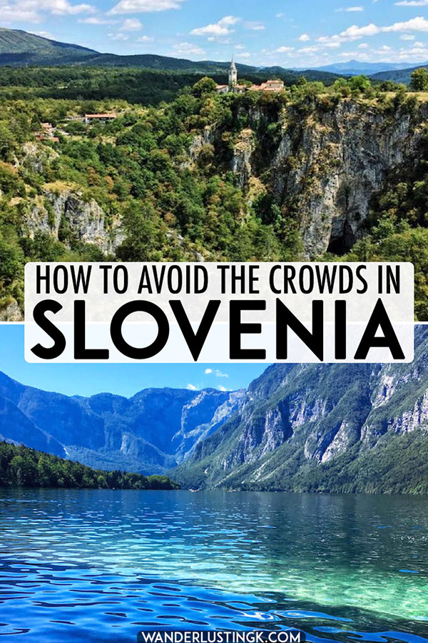 Looking to avoid the crowds in Slovenia? Insider tips from a local on the best places to visit in Slovenia with alternative to the main tourist attractions in Slovenia... #slovenia #travel #europe