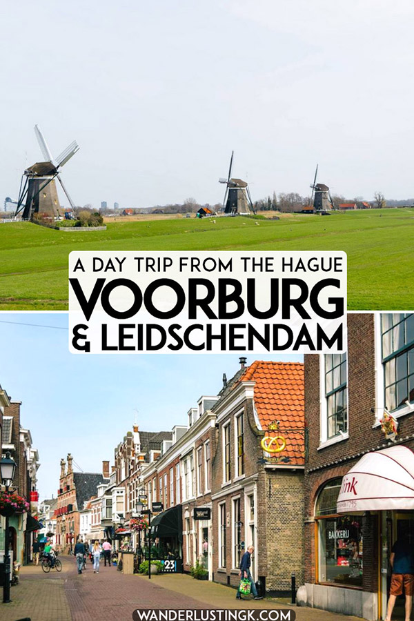 Considering taking a day trip from the Hague? A scenic bike ride outside of the Hague visiting Voorburg, Leidschendam, and Molendriegang (Three Windmills). #travel #Holland #hague #denhaag #molen #netherlands