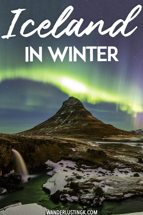 Planning a trip to Iceland in winter? 20 essential travel tips for Iceland in winter that you'll want to read before your trip to Iceland, including tips for seeing the Northern Lights! #iceland #travel #europe