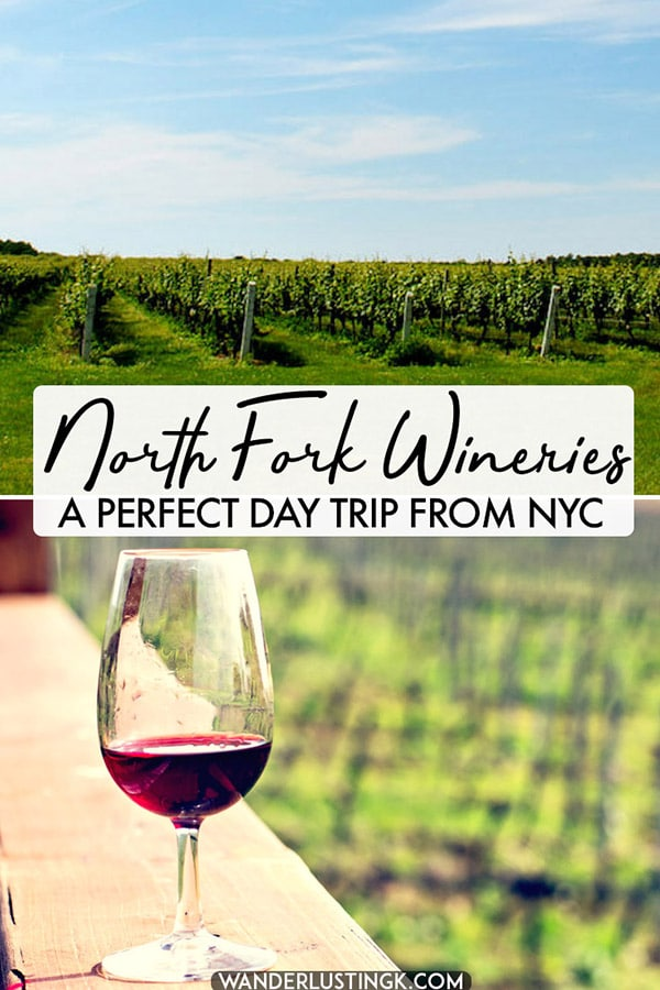 Looking for the perfect day trip from New York City? Head to Long Island to visit the North Fork, which has some of the best wineries on Long Island. Read this guide to visiting the North Fork! #travel #newyork #longisland #wine
