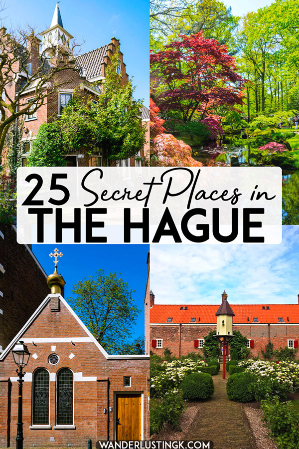 Looking for off the beaten path things to do in the Hague? Read about secret places in the Hague, including hofjes and other local only secrets of Den Haag. #geheim #denhaag #holland #travel #netherlands #nederland