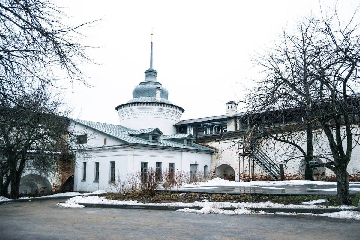 the Yar-Kremlin in Yaroslavl, one of the main attractions in the city.
