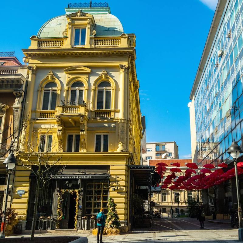 Manufactura, one of the best Serbian restaurants in Belgrade that you must include on your Belgrade itinerary to try Serbian food at! #travel #Belgrade #serbia #balkans