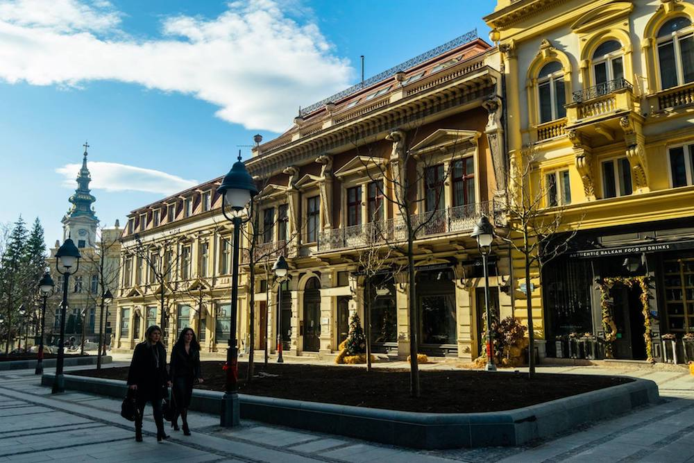 Beautiful street in Belgrade, Serbia. This Balkan city has many things to do.  Read what to do in Belgrade! #travel #belgrade #serbia
