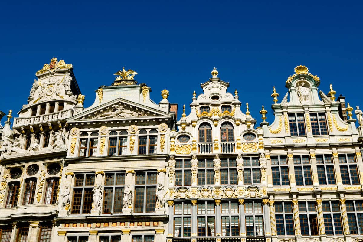 Grand Place in Belgium, the location where you'll want to stay close to if you're trying to find a nice hotel in Brussels.
