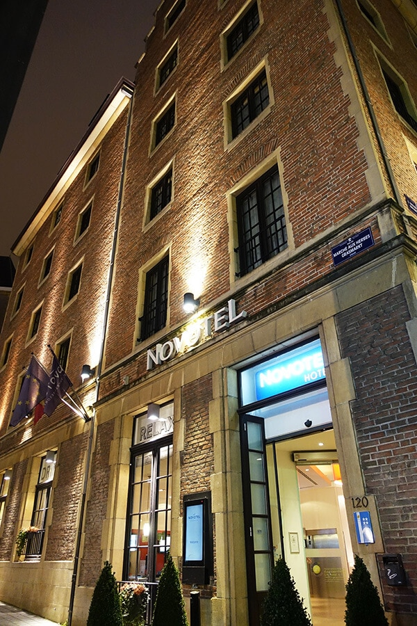 Photo of the Novotel Brussels, one of the best located hotels in Brussels! #travel #Brussels