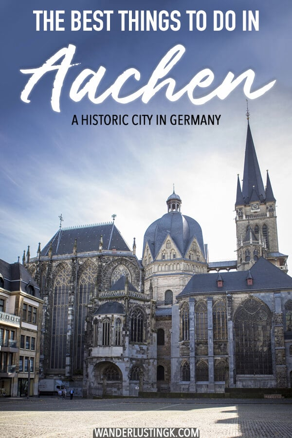 Planning a trip to Aachen, Germany? Aachen is a beautiful historic city in Germany close to Maastrict, the Netherlands with many things to do! Read about what to do in Aachen and seasonal events (carnival) to celebrate in Aachen! #travel #aachen #germany